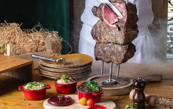 All-you-can-eat Churrasco BBQ in Fogueira