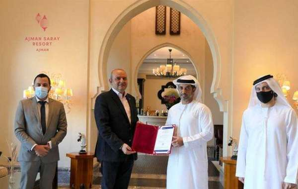 Ajman Saray Received the First BV Certification Awards