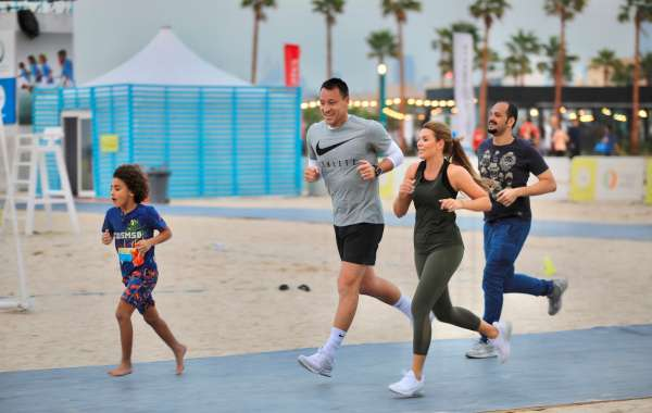 Dubai Turns into a Running Track on 27 November 2020